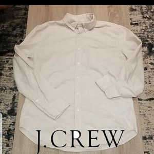 PRICE DROP!! J Crew Linen Button up Shirt.